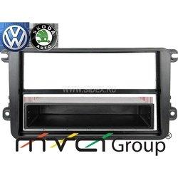 Переходная рамка для VW Golf 5, Polo new, Amarok, Touran, Jetta, Passat B6,B7, Tiguan, SKODA Fabia new (Intro RVW-N01)
