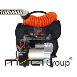 Компрессор 600 TORNADO (метал.с сумкой)200PSI, 13.79 атм
