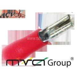 Клемма акустическая (ACV RM37-1405) (красная)