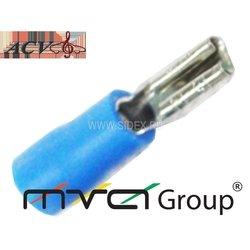 Клемма акустическая W=4.8, 14-16AWG (ACV RM37-1407) (синяя)
