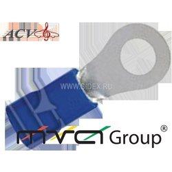 Клемма кольцевая D=8.4, 14-16AWG (ACV RM37-1402) (синяя)