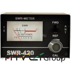 SWR 420 (SWR met)Настройщик антенны(КСВ-метр-Измеритель коэффициента стоячей волны)