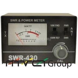 SWR 430 (SWR, WATT) Настройщик антенны(КСВ-метр-Измеритель коэффициента стоячей волны)