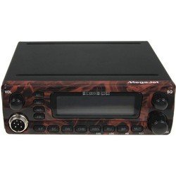 Автомобильная радиостанция Megajet MJ-3031M Turbo (красное дерево)