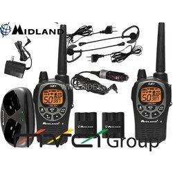 Радиостанция MIDLAND GTX-1000 к-т из 2-х радиостанций + з.у.