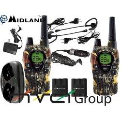 Радиостанция MIDLAND GTX-650 к-т из 2-х радиостанций + з.у.