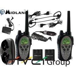 Радиостанция MIDLAND GTX-900 к-т из 2-х радиостанций + з.у.