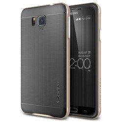 Чехол-бампер для Samsung Galaxy Alpha Spigen Neo Hybrid (SGP11094) (шампань)