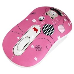 CROWN CMM-928W Bear Pink USB