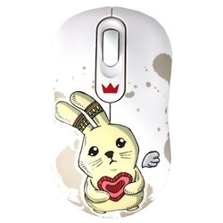 CROWN CMM-928W Rabbit White USB