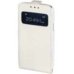 чехол-флип для samsung galaxy s4 mini (hama smart window h-133004) (белый)