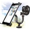 Ginzzu GH-685 (черный) - Автомобильный держатель для планшетаАвтомобильные держатели для планшетов<br>Универсальный автомобильный держатель для планшетов 7-10.1, крепление на лобовое стекло, вращение на 360 градусов.<br>