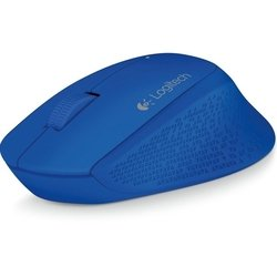 logitech wireless mouse m280 usb (синий)