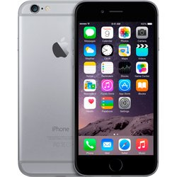 Apple iPhone 6 16Gb A1586 (4,7 дюйма) Space Gray (серый космос) :