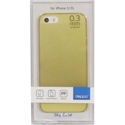 ����������� �����-��������+�������� ������ apple iphone 5, 5s (deppa sky case 86010) (�������)