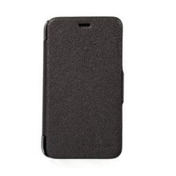чехол-книжка для nokia lumia 620 (nillkin fresh series leather case) (черный)