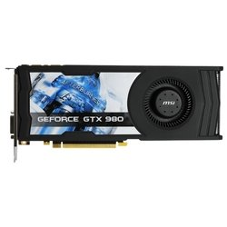 MSI GeForce GTX 980 1152Mhz PCI-E 3.0 4096Mb 7010Mhz 256 bit DVI HDMI HDCP
