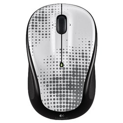 logitech wireless mouse m325 perfectely pewter white-black usb