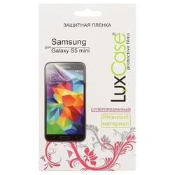 защитная пленка для samsung galaxy s5 mini (luxcase) (суперпрозрачная)