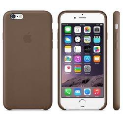 Чехол-накладка для Apple iPhone 6 Plus, 6s Plus (MGQR2ZM/A) (коричневый)