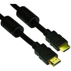 Кабель HDMI ver:1.4+3D, 10m, позолоченные контакты, 2 фильтра (VCOM VHD6020D-10MB)