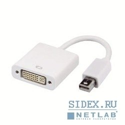 Кабель-переходник Mini DisplayPort (M) - DVI (F) (VCOM VHD6050)