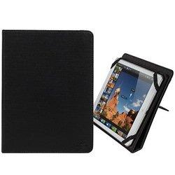 """Универсальный чехол-книжка для планшетов 8"""" (Riva 3204) (черный)"""