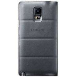 чехол-книжка для samsung galaxy note 4 (ef-wn910bcegru) (черный)