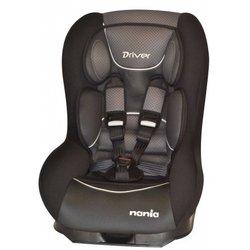 Автокресло детское от 0 до 18 кг (Nania Driver FST graphic black) (черный)