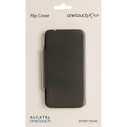 чехол-книжка для alcatel one touch pop s3 5050y (f-gcgc6130k12c1-a1) (коричневый)