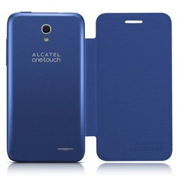 чехол-книжка для alcatel one touch pop s3 5050y (f-gcgc6130g22c1-a1) (синий)