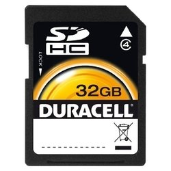 duracell sdhc class 4 32gb