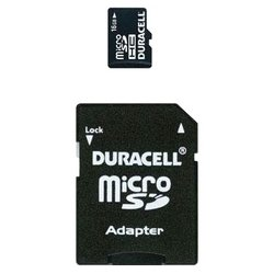 duracell microsdhc class 4 16gb + sd adapter