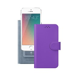 "������������� �����-������ ��� ���������� 3.5-4.3"" (Deppa Wallet Cover S 84043) (����������)"