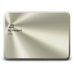 western digital my passport ultra 1tb (wdbw5l0010bcg-eeue) (золотистый)