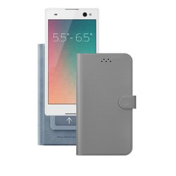 "������������� �����-������ ��� ���������� 5.5-6.5"" (Deppa Wallet Cover L 84052) (�����)"
