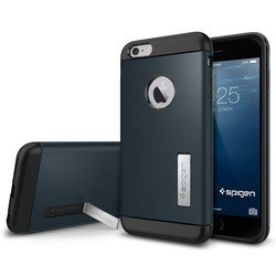 "Чехол-накладка для Apple iPhone 6 Plus, 6s Plus 5.5"" (Spigen Slim Armor Series SGP10901) (металлический)"