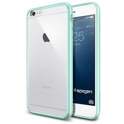 "Чехол-накладка для Apple iPhone 6 Plus, 6s Plus 5.5"" (Spigen Ultra Hybrid SGP11052) (мятный)"