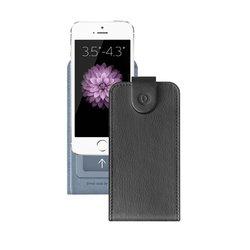 """Универсальный чехол-флип для смартфонов 3.5-4.3"""" (Deppa Flip Cover S 81028) (черный)"""