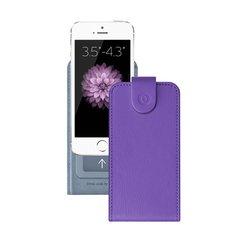 """Универсальный чехол-флип для смартфонов 3.5-4.3"""" (Deppa Flip Cover S 81031) (фиолетовый)"""