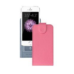 """Универсальный чехол-флип для смартфонов 3.5-4.3"""" (Deppa Flip Cover S 81032) (розовый)"""