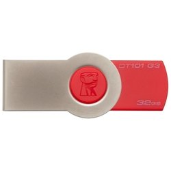 USB флэш-накопитель Kingston Data Traveler 101 32GB Gen.3 (DT101G3/32GB) (красный)
