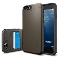 """Чехол-накладка для Apple iPhone 6, 6s 4.7"""" (Spigen Slim Armor CS SGP10964) (стальной)"""