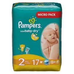 Pampers Baby Dry 2 (3-6 ��) 17 ��.
