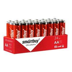 Алкалиновая батарейка Smartbuy LR6/4S (SBBA-2A24S)