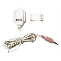 Микрофон Dialog М-100 (клипса) (белый)