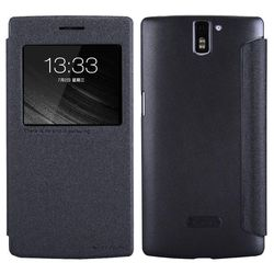 �����-������ ��� oneplus one nillkin sparkle leather case (������)