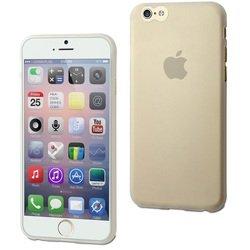 Чехол-накладка для Apple iPhone 6, 6s (Muvit Thingel Case MUSKI0323) (прозрачный)
