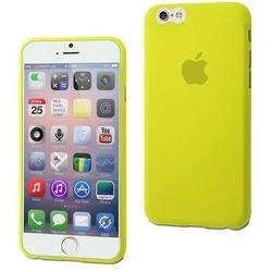 Чехол-накладка для Apple iPhone 6, 6s (Muvit Thingel Case MUSKI0358) (зеленый)