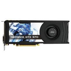 MSI GeForce GTX 970 1076Mhz PCI-E 3.0 4096Mb 7010Mhz 256 bit DVI HDMI HDCP